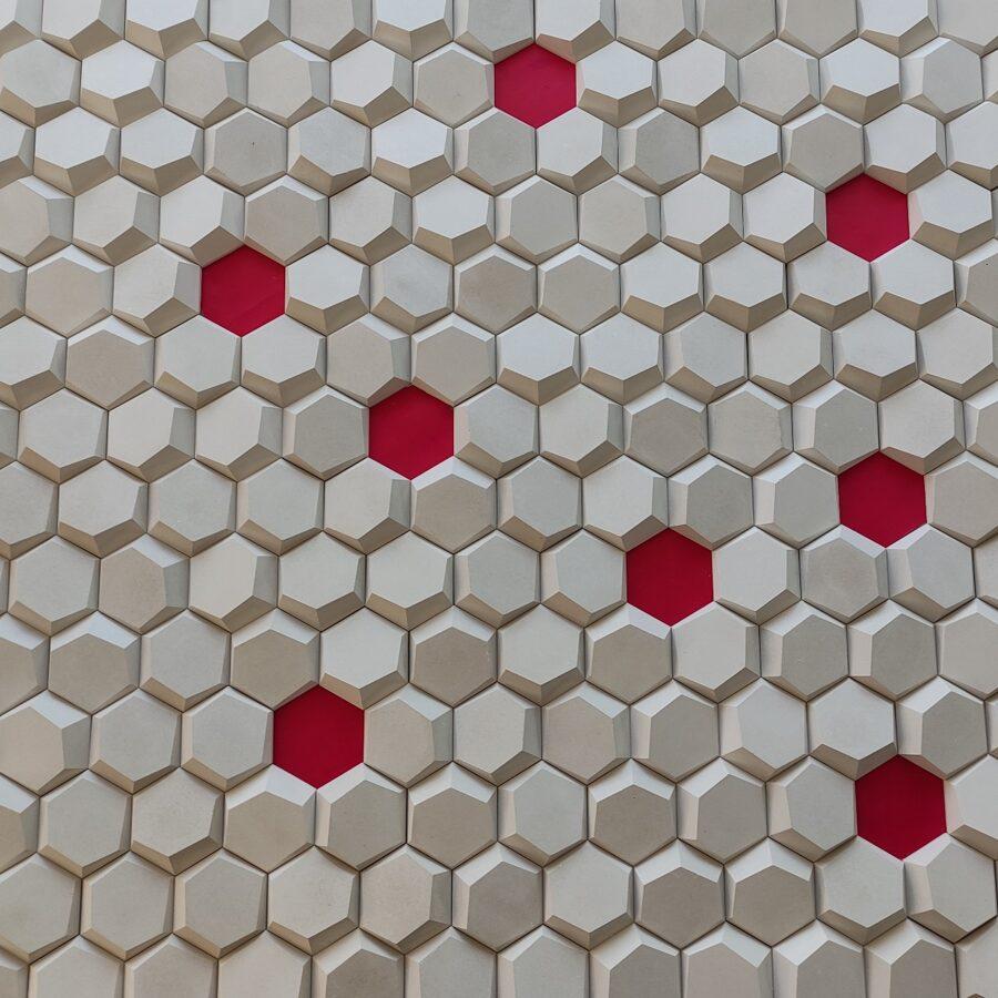 3D mozaika korys